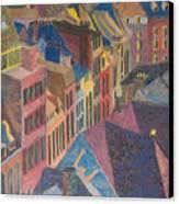Old Town Canvas Print by Lucinda  Hansen