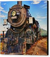Old Train Canvas Print