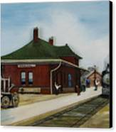 Old Train Station Canvas Print