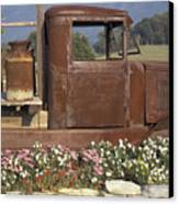 Old Truck In Tennessee Canvas Print