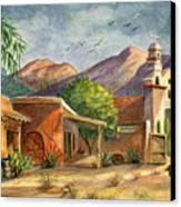 Old Tucson Canvas Print
