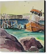 Old Tug Canvas Print