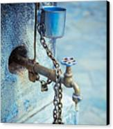 Old Water Tap Canvas Print