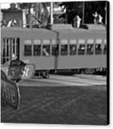 Old Ybor City Trolley Canvas Print