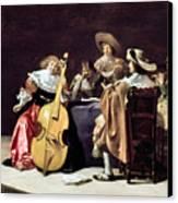 Olis: A Musical Party Canvas Print