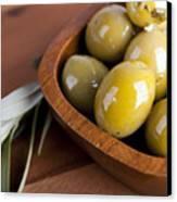 Olive Bowl Canvas Print