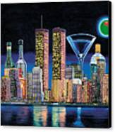 Olive Ny Canvas Print by Tim Williams