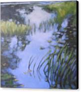 On Calm Reflection Canvas Print