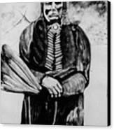 On Kiowa Reservation Canvas Print