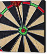 On Target Bullseye Canvas Print