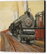 On The Great Steel Road Canvas Print by Christopher Jenkins