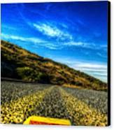 On The Road Again Canvas Print by Sarita Rampersad