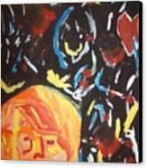 On This Sleepless Night Canvas Print