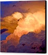 One Cloudy Afternoon Canvas Print