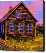 One Room Schoolhouse Canvas Print