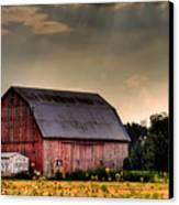 Ontario Barn In The Sun Canvas Print