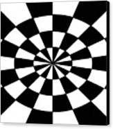 Op Art Canvas Print by Methune Hively