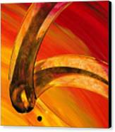 Orange Expressions Canvas Print by Sharon Cummings