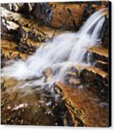 Orange Falls Canvas Print by Chad Dutson