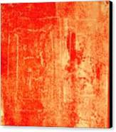 Orange No 34 Canvas Print
