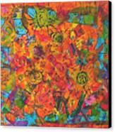 Orange Orange Canvas Print