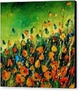 Orange Poppies 459080 Canvas Print