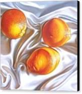 Oranges 2 Canvas Print