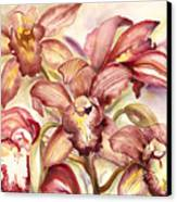 Orchid Medley Canvas Print