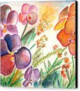 Orchid No. 12 Canvas Print