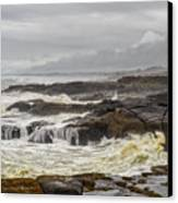 Oregon's Rugged Coast Canvas Print by Dick Wood