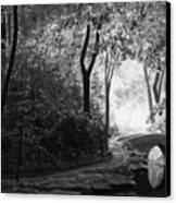 Oriental Garden Canvas Print