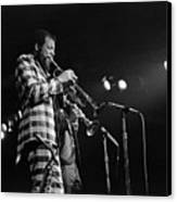 Ornette Coleman On Trumpet Canvas Print