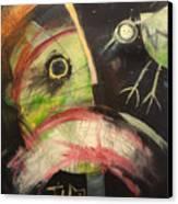Ornithophobia  Canvas Print