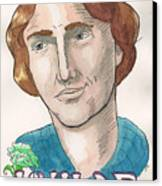 Oscar Wilde Canvas Print by Whitney Morton