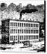 Otis Elevator Factory Canvas Print