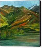 Otto Lake Canvas Print by Amy Reisland-Speer
