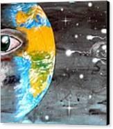 Our Cosmic Origin Canvas Print by Paulo Zerbato
