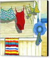 Out To Dry Canvas Print by Debbie Brown