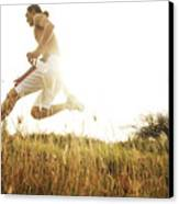Outdoor Jogging II Canvas Print by Brandon Tabiolo - Printscapes