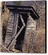 Outhouse3 Canvas Print