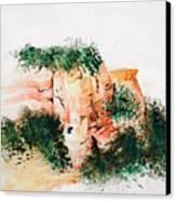 Outside Sedona Canvas Print