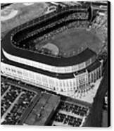 Over 70,000 Fans Jam Yankee Stadium Canvas Print by Everett