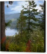 Over Burrard Inlet Canvas Print by Barbara  White