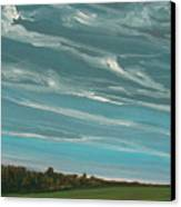 Over The Fields Canvas Print