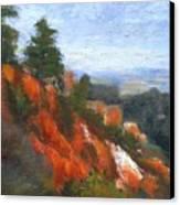Overlook Canvas Print by Gail Kirtz