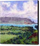 Overlook Canvas Print by Kenneth Grzesik
