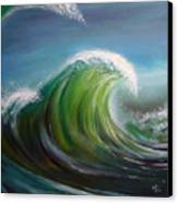 Overpowered Canvas Print