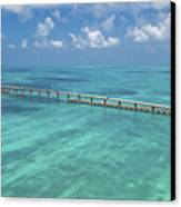 Overseas Highway Canvas Print by Patrick M Lynch