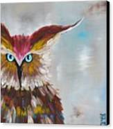 Owl Canvas Print by Holly Donohoe