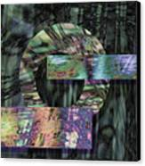 Oxidzed Canvas Print